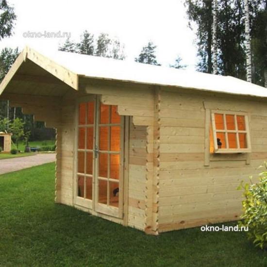 летний дом из минибруса