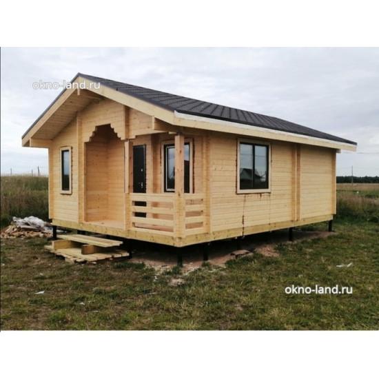 дом из минибруса
