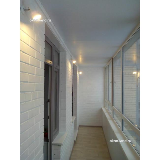 отделка балкона в ЖК Академ-Парк, Спб