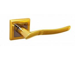 Ручка Modeno Генуя Квадро золото, хром