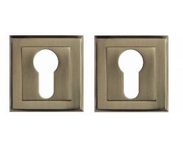 Межкомнатная дверь Накладка под цилиндр Modeno в цвете матовое золото, матовый никель, бронза, хром, черный никель