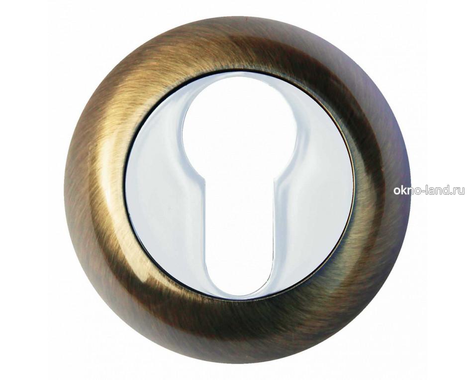 Межкомнатная дверь Накладка под цилиндр Modeno в цвете бронза, золото, хром, медь, черный матовый, черный никель