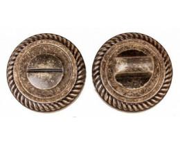 Межкомнатная дверь Завертка сантех. Modeno Vintage в цвете бронза, античная брон..