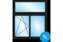 Окно в старом фонде под ключ 1250Х1850